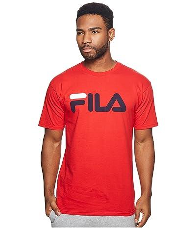 Fila Printed T-Shirt (Red) Men