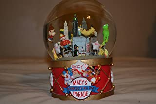 2002 Musical Macy's Thanksgiving Day Parade Snow Globe