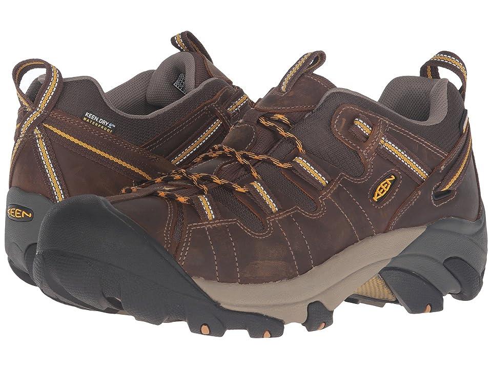 e1b8a8759 Keen Targhee II (Cascade Brown Golden Yellow) Men s Waterproof Boots