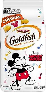 Pepperidge Farm Goldfish Cheddar Crackers, Special Edition Disney Mickey Mouse, 6.6 oz. Bag