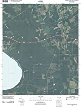 Historic Pictoric - North Carolina Maps - 2010 Lake Waccamaw East, NC USGS - Topographic Wall Art : 24in x 30in