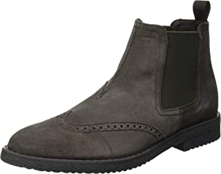 Geox U Brandled A, Bottes Chelsea Homme