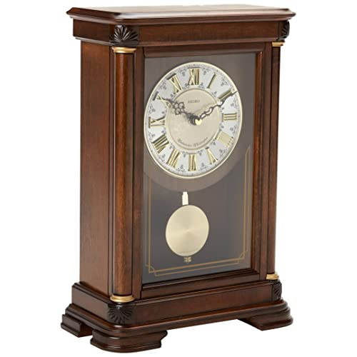 Amazon glass mantel clocks