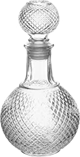 European Glass Scotch Decanter with Stopper, 32 Ounce