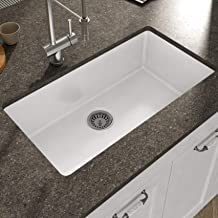 Best ceramic kitchen sink undermount Reviews