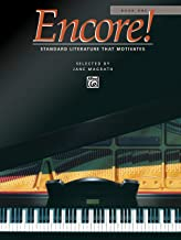 encore piano book
