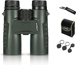 دوچشمی برای بزرگسالان ، دوربین دو چشمی C-stdar 10x42 Compact High Power for Watching Bird، with BAK4 Prism