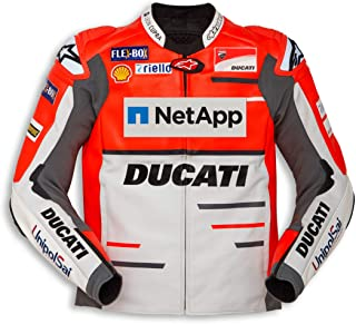 Limited Edition Ducati Replica '18 Perforated Leather Jacket (52)
