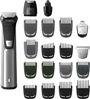 Philips Multigroom Series 7000 Cordless Wet & Dry with 19 Trimming Accessories and Storage Bag, MG7770/18
