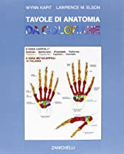 Tavole di anatomia da colorare. Per gli Ist. D'arte