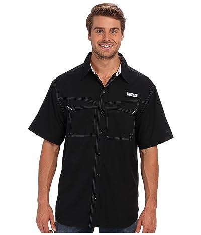 Columbia Low Drag Offshore S/S Shirt (Black) Men