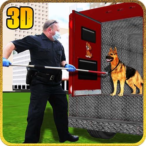 Crazy Dog Tier Transport LKW Pflicht Fahrer Simulator 3D: Wildtier Transporter Cargo Racing Parkplatz Driving Abenteuer Spiele Gratis für Kinder 2018