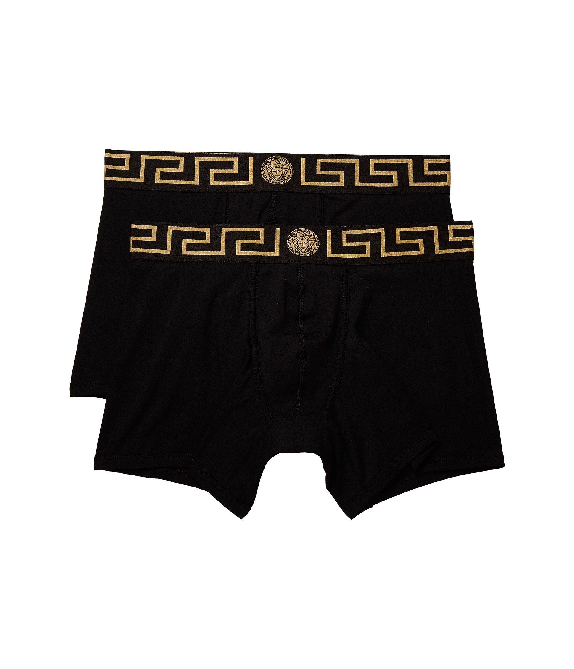 Greca black pack Versace Long 2 gold Trunk Black x0ASpF4