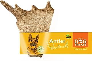 Natural Dog Treats Fallow Herten Gewei voor Honden Kauwstang Natuurlijk Duurzaam Onverwoestbaar Hond Kauwspeelgoed, Maat ...