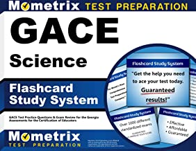 GACE Science Flashcard Study System: GACE Test Practice Questions & Exam Review for the Georgia Assessments for the Certification of Educators (Cards)