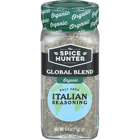 Amazon.com : Spice Hunter seasoning Italian Organic, 0.4 oz : Grocery &  Gourmet Food