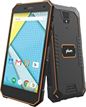 "Plum Gator 4 - Rugged Smart Cell Phone Unlocked Android 4G GSM 13 MP Camera 5"" HD Display IP68 Military Grade Water Shock ..."