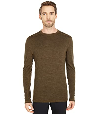 Smartwool Merino 250 Base Layer Crew (Military Olive Heather) Men
