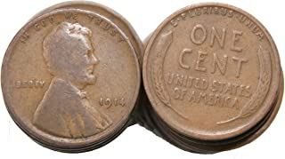 1910-1919 Roll of 50 Wheat Cents
