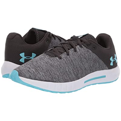 Under Armour UA Micro G Pursuit Twist (Jet Gray/Steel/Venetian Blue) Women