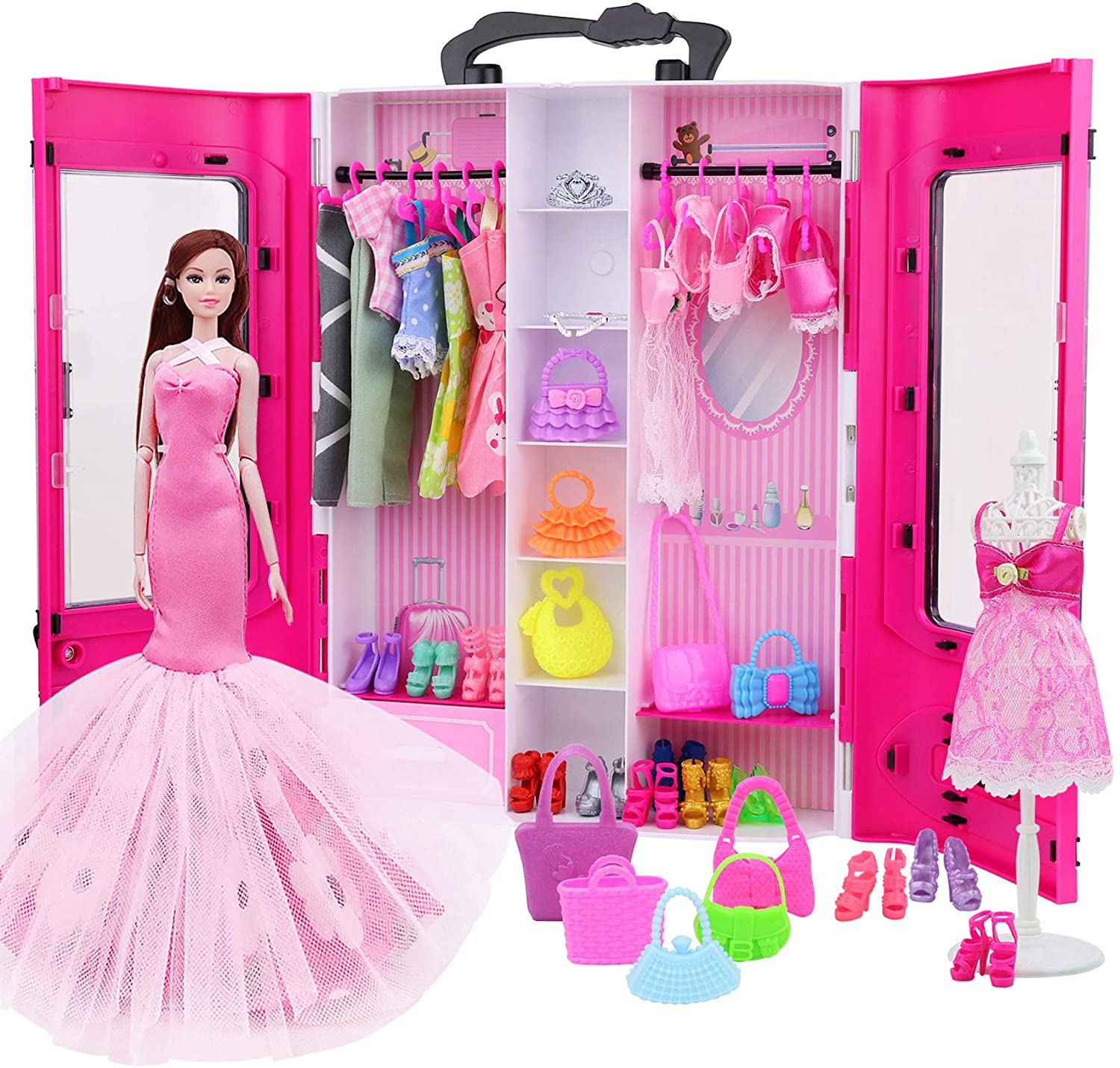 K.T.Fancy Doll Closet Wardrobe Limited time trial price Award-winning store for Clot Girl Inch 11.5