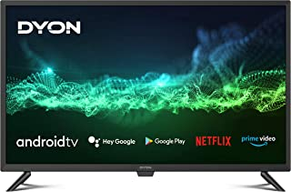 DYON Smart 32 AD 80 cm (32 inch) Android TV (HD Triple Tuner, Google Play Store, Google Assistant, Prime Video, Netflix, B...