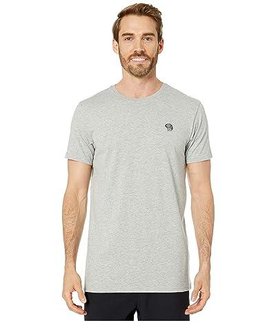 Mountain Hardwear Hardweartm Logo Short Sleeve Tee (Heather Grey) Men