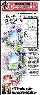أختام مطاطية بألوان مائية من Art Impressions Bible Journaling