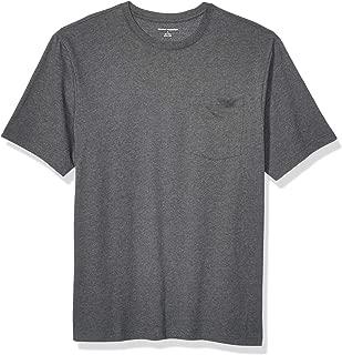 Amazon Essentials Men's Short-Sleeve Heavyweight Workwear Pocket T-Shirt