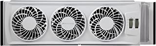 Bionaire BWF0502M-WM Thin Window Fan, White