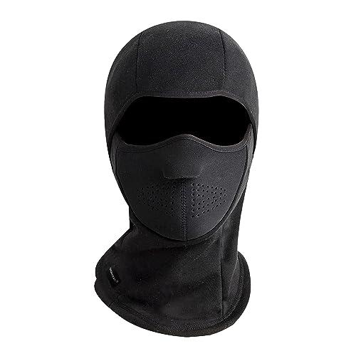73930557b62 ZERDOCEAN Winter Windproof Fleece Thermal Full Face Motorcycle Ski Mask  Balaclava
