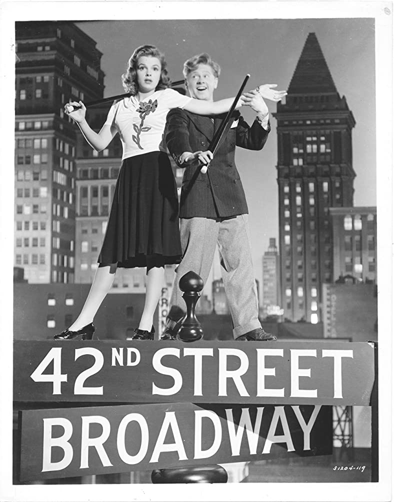 JUDY GARLAND/MICKEY ROONEY/BABES ON BROADWAY/8X10 COPY PHOTO A5590