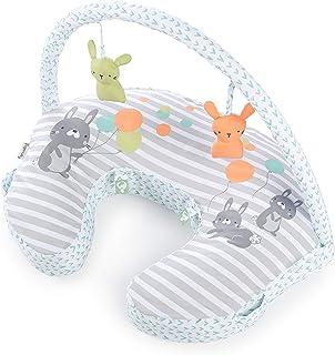 Ingenuity Plenti+™ Nursing Pillow + Toy Bar - Hop Art™, Pack of 1