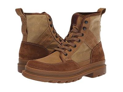 Frye Scout Boot (Tan Multi Suede/Waxy Canvas) Men