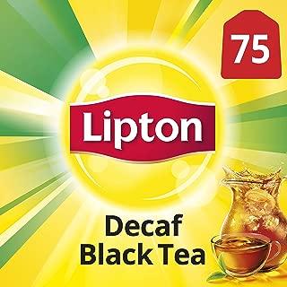 Lipton Black Tea Bags, Decaffeinated 75 ct
