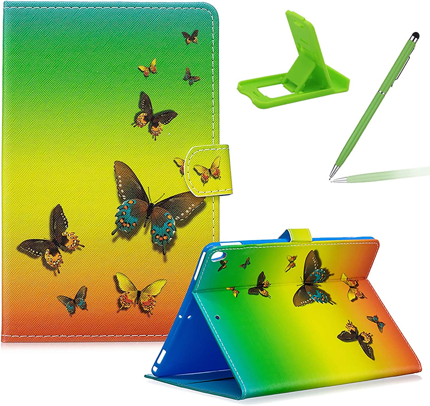 Herzzer Slim Be super Direct store welcome Leather Wallet Case for Multi-Angle Pro 10.2