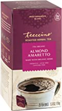 Teeccino Herbal Tea – Almond Amaretto – Rich & Roasted Herbal Tea That's Caffeine Free & Prebiotic for Natural Energy, 25 ...
