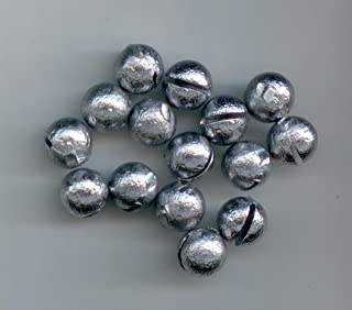 1/4oz HAND POURED ROUND SPLIT SHOTS, 100 PER PACK BY S & J's TACKLE BOX