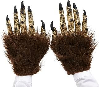 Brown Beast Adult Latex Hands