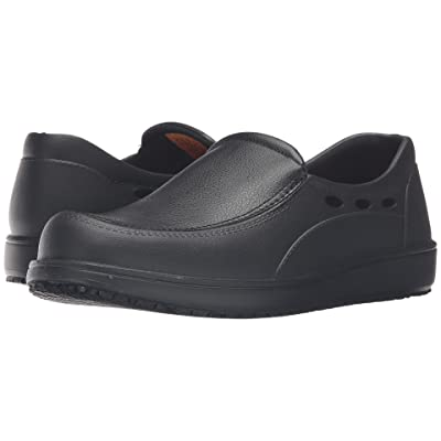 SKECHERS Work Molded EVA Slip-On w/ Synthetic (Black EVA) Men