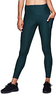 Active Women's Workout Yoga 7/8 Ankle Legging with Side Detail