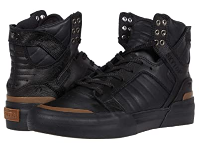 Supra Skytop 77 (Black/Black/Gum) Men