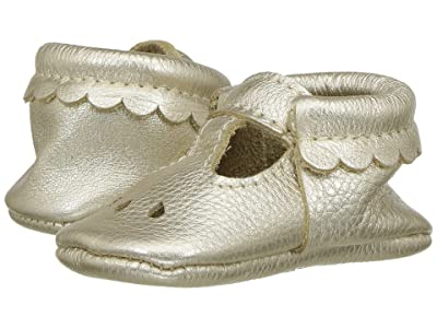 Freshly Picked Soft Sole Mary Jane (Infant/Toddler) (Platinum) Girl