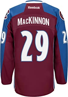 Nathan MacKinnon Colorado Avalanche Reebok Premier Jersey (Maroon) Medium