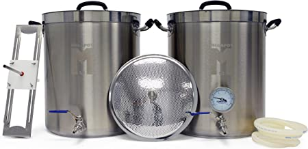 MegaPot 1.2 All Grain Beer Brewing Equipment System - 15 Gallon Kit