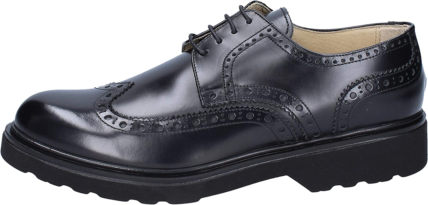 MORETTI Oxfords-shoes Mens Leather Black