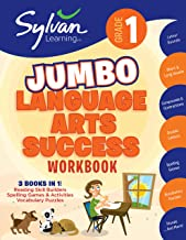 1st Grade Jumbo Language Arts Success Workbook: Activities, Exercises, and Tips to Help Catch Up, Keep Up, and Get Ahead (Sylvan Language Arts Jumbo Workbooks)