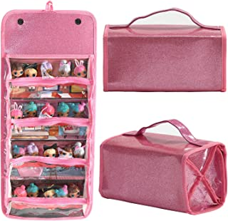 Leeche Storages & Display Case for Dolls Compatible with All LOL Surprise Dolls,Easy Carrying...