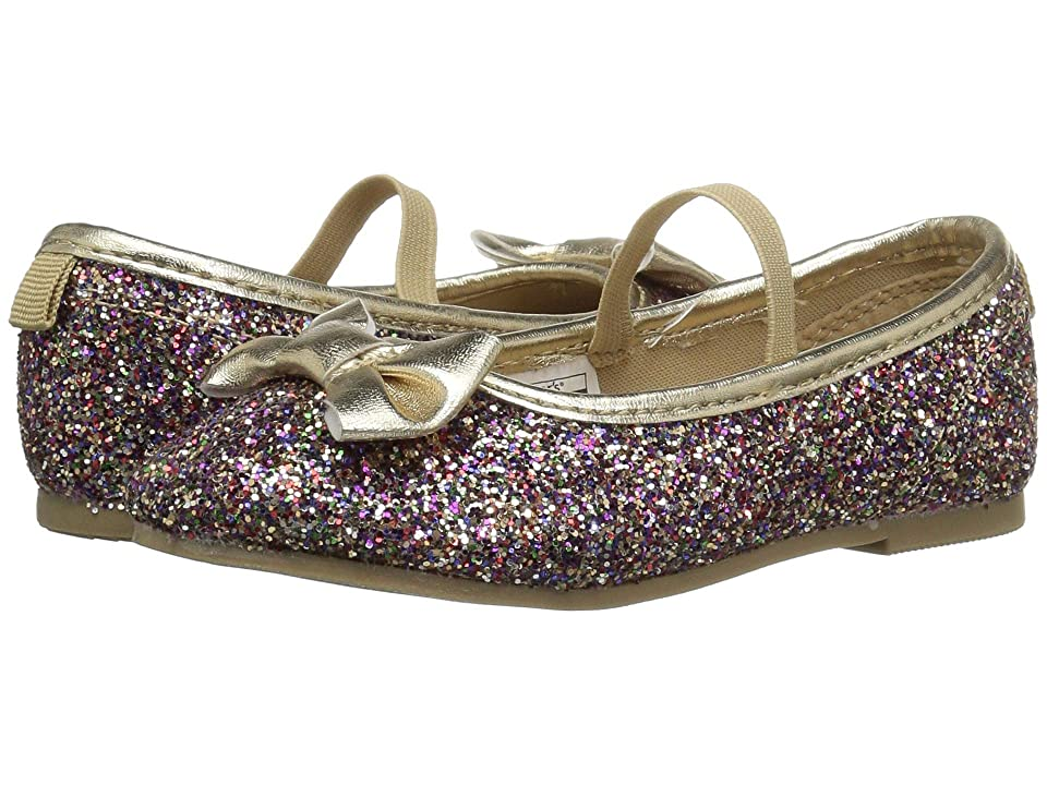 Carters Bigbow 5 (Toddler/Little Kid) (Multi Glitter PU/Metallic PU) Girl