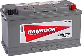 Hankook 12V 110Ah Low Height Leisure Battery For Camper, Caravan, Motorhome, Boat